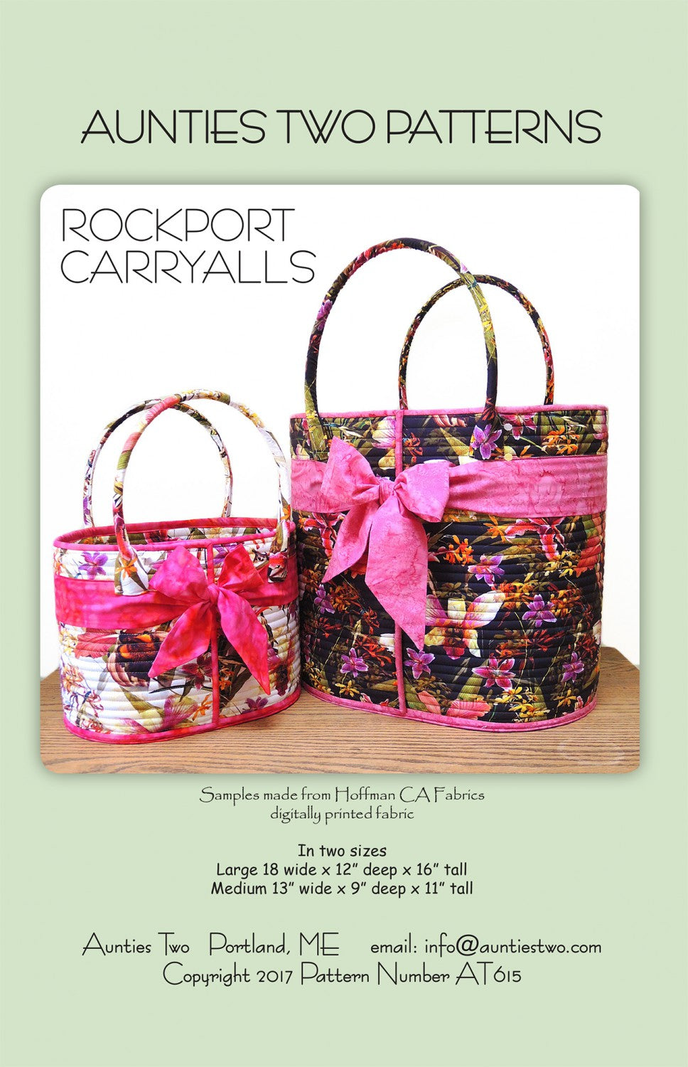 Rockport Carryall - Auntie Two Pattern