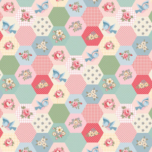 DOTS & POSIES - Birds & Hexies