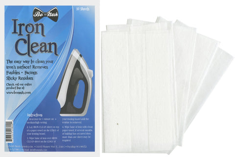 Bo Nash-Pack of 10 Iron Cleaner Cloths