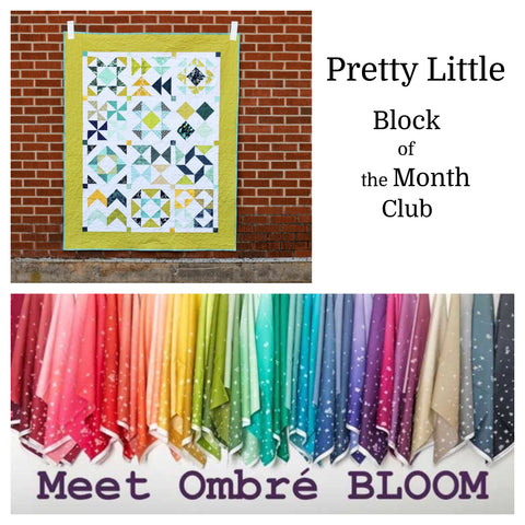 Pretty Little Block of the Month Club - Registration