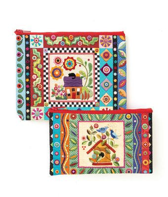 Colorful Creatures Eco Pouch Set
