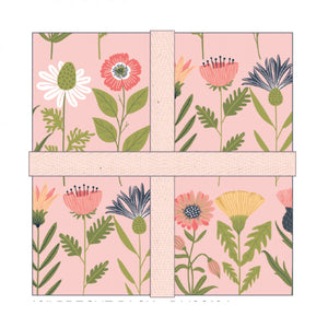 10in Squares Daisy Mae, 42pcs