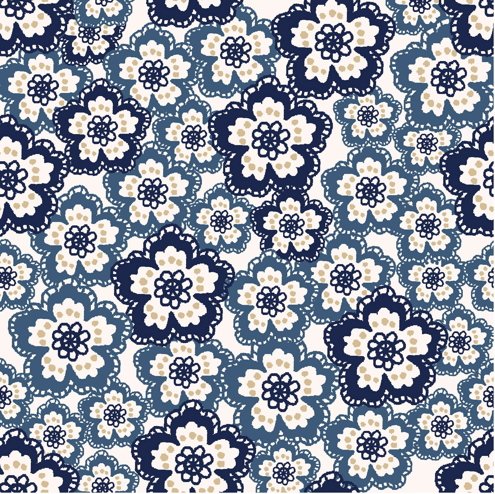 Dynasty Collection- Dotted Floral