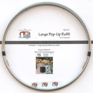 Large 10-1/2in Pop-Up - Refill