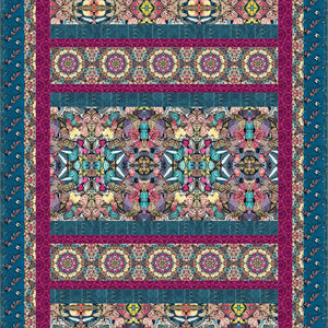 Honor Quilt featuring Chrysalis Collection 622
