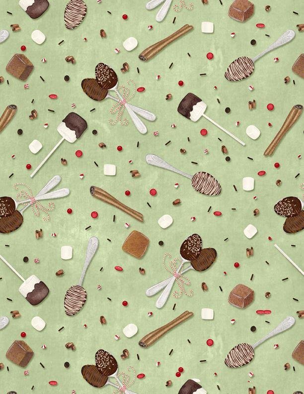 Hot Cocoa Sweets Green