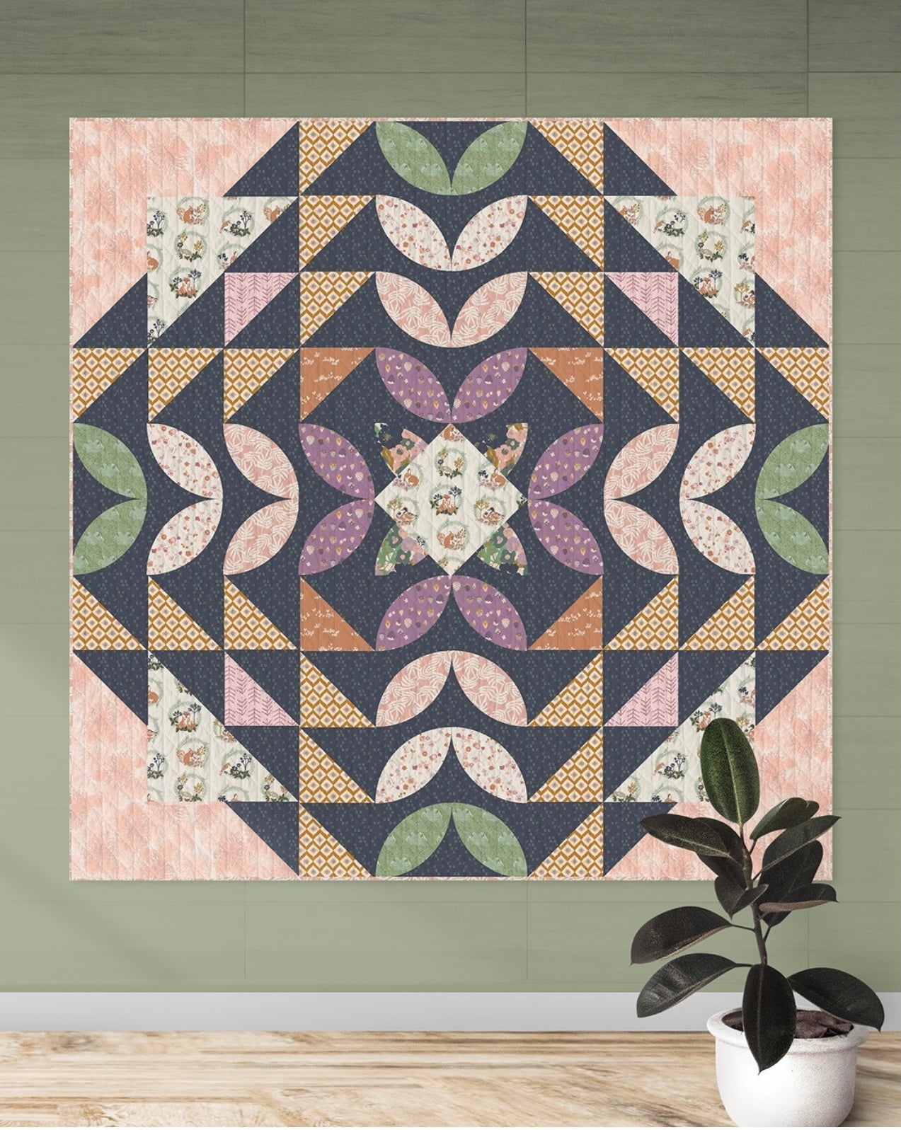 Treasure Hunt Quilt kit