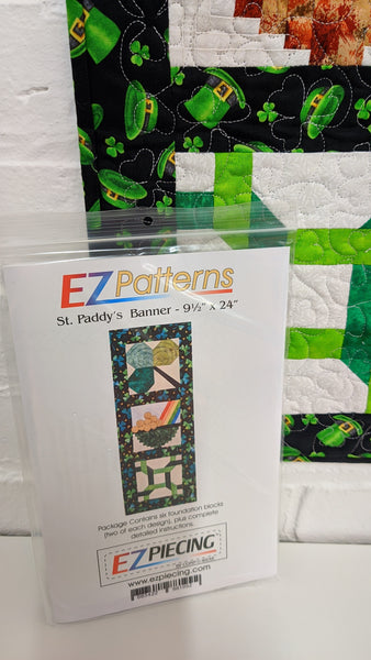 St Paddys Banner 9.5 x 24
