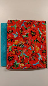 Rockport Carry All LARGE- Poppy - FABRIC ONLY