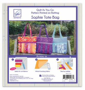 Quilt as you go Tote- Sophie design