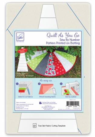 Tree Skirt - Quilt As You Go