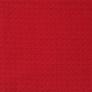 Tea Towel Waffle Weave Bright Red