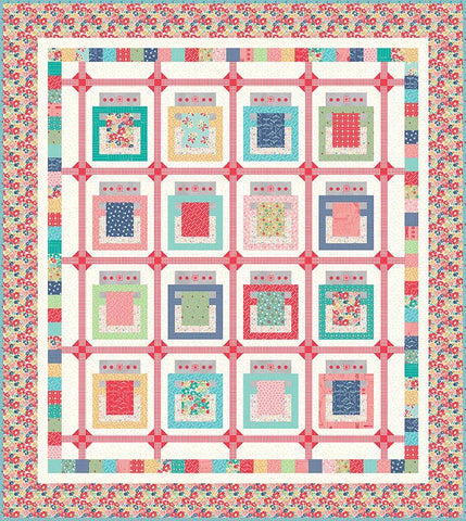 Lori Holt Baked With Love QUILT KIT - Vintage Happy 2 fabrics