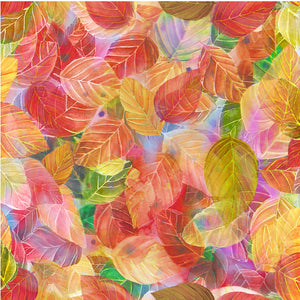 Mystic Leaves - LEAVES ORANGE MULTI