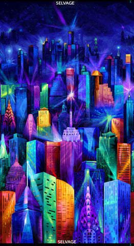 Nightlife By Chong-a Hwang-Skyline Panel