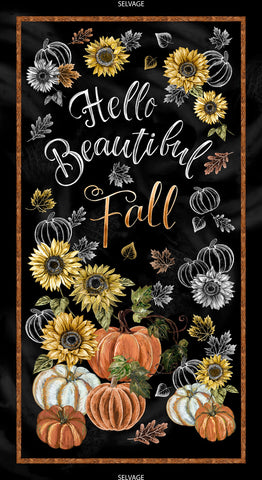 Hello Beautiful Fall- Panel HA1