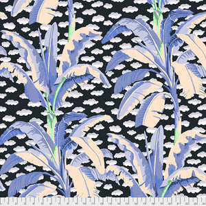 Kaffe Fassett Collective February 2021 - PREORDER Banana Leaf Grey