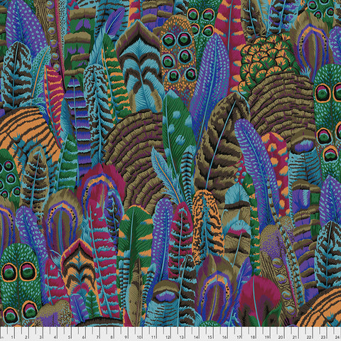 Kaffe Fassett Collective February 2021 - PREORDER Feather - Autumn