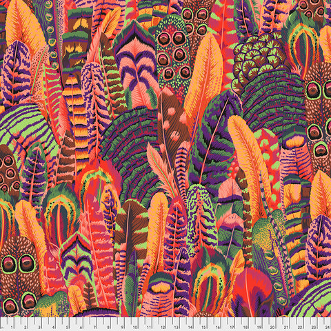 Kaffe Fassett Collective February 2021 - PREORDER Feather - Summer