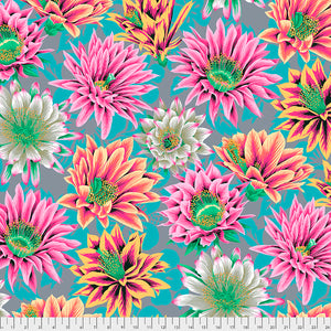 Kaffe Fassett Collective February 2021 - PREORDER Cactus Flower - Tawny
