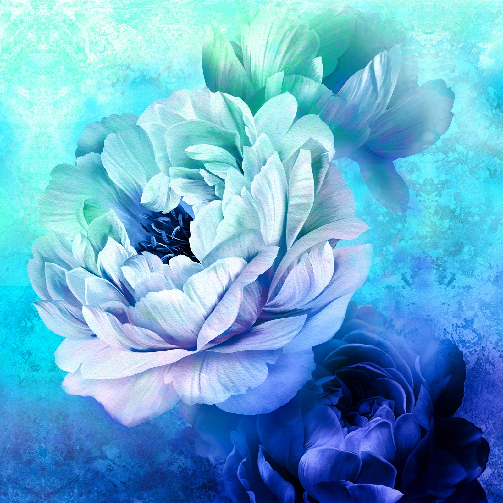 Royal Beauty Digital Panel - Blue