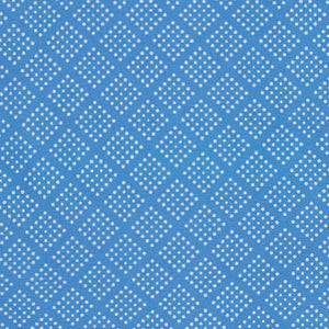 Sevenberry Collection-Sky diamond dots by Robert Kaufman