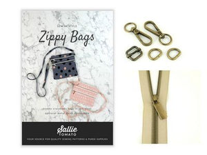 Zippy - Sallie Tomato Bag Month 4