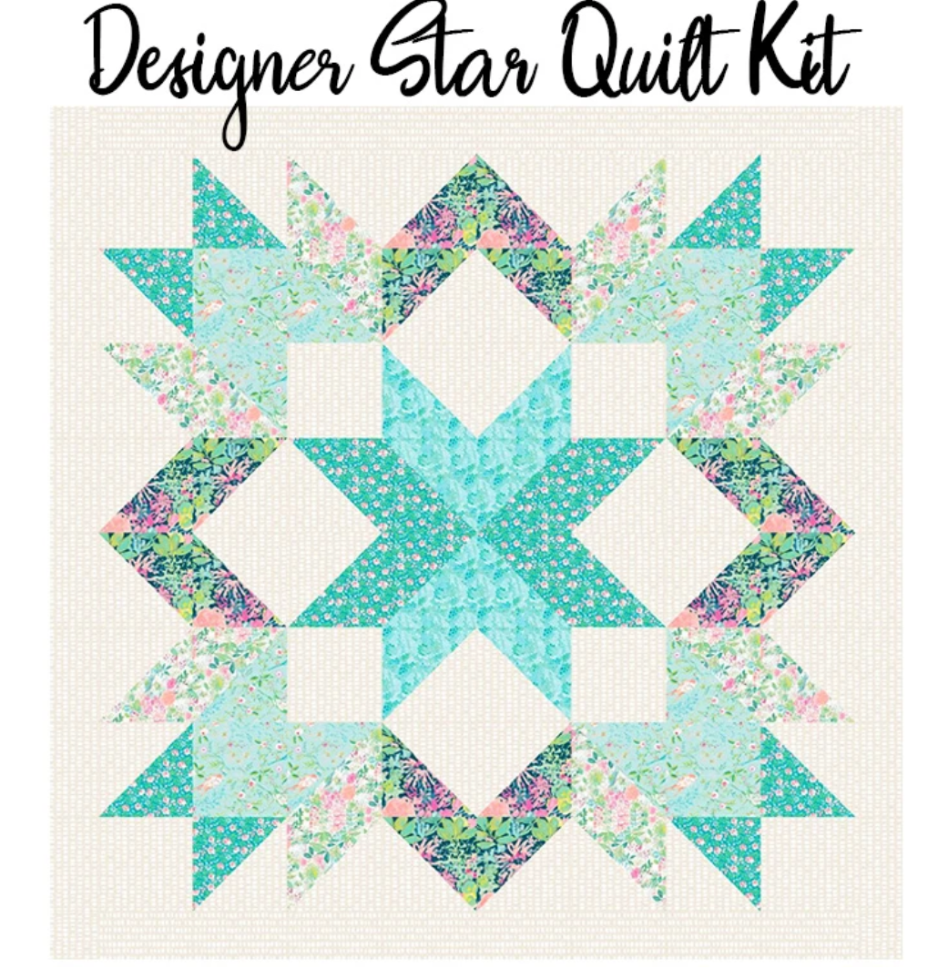 Designer Star Quilt Kit