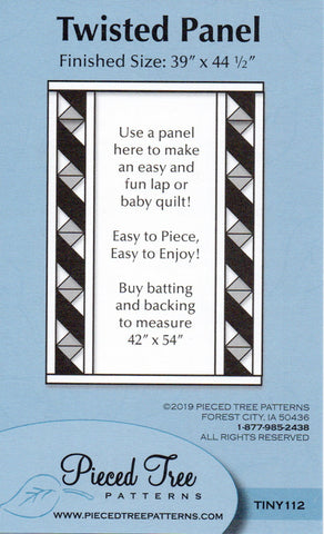 Twisted Panel Pattern By Shelly Robson