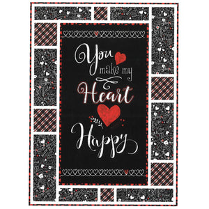 You Make My Heart Happy - Quilt Kit Message Board