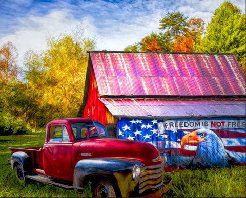 Freedom is not Free - Truck Panel