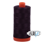 Aurifil - Mako Cotton Thread Solid 50wt 1422yds - Red Wine