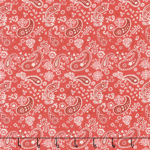 Homemade Happiness - Red Paisley