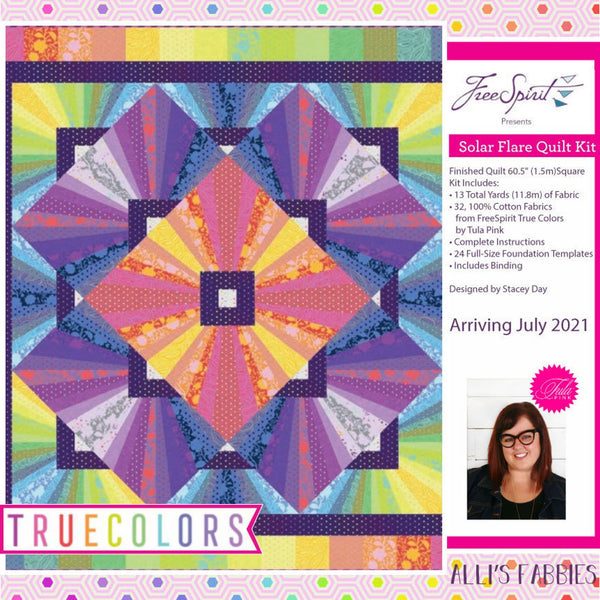 Solar Flare -  True Colors Tula Pink