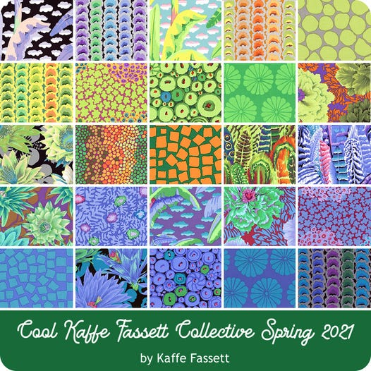 Kaffe Fassett Collective February 2021 - Layer Cake COOL