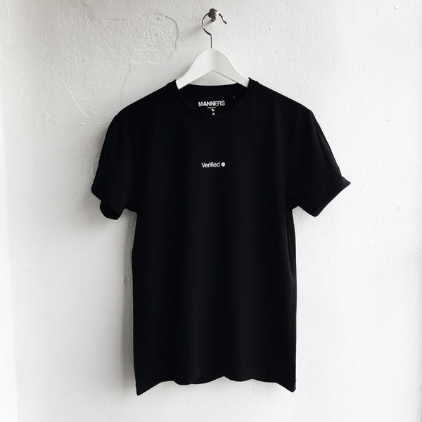 Verified tee black