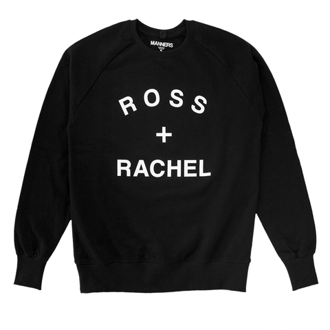 ROSS + RACHEL sweat black