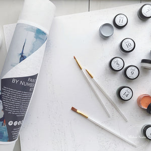 How To Use Your PAINT BY NUMBERS Kit
