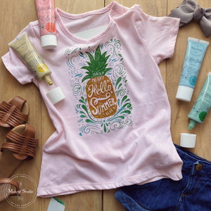 Crafting With Our New Aloha Summer Stencil