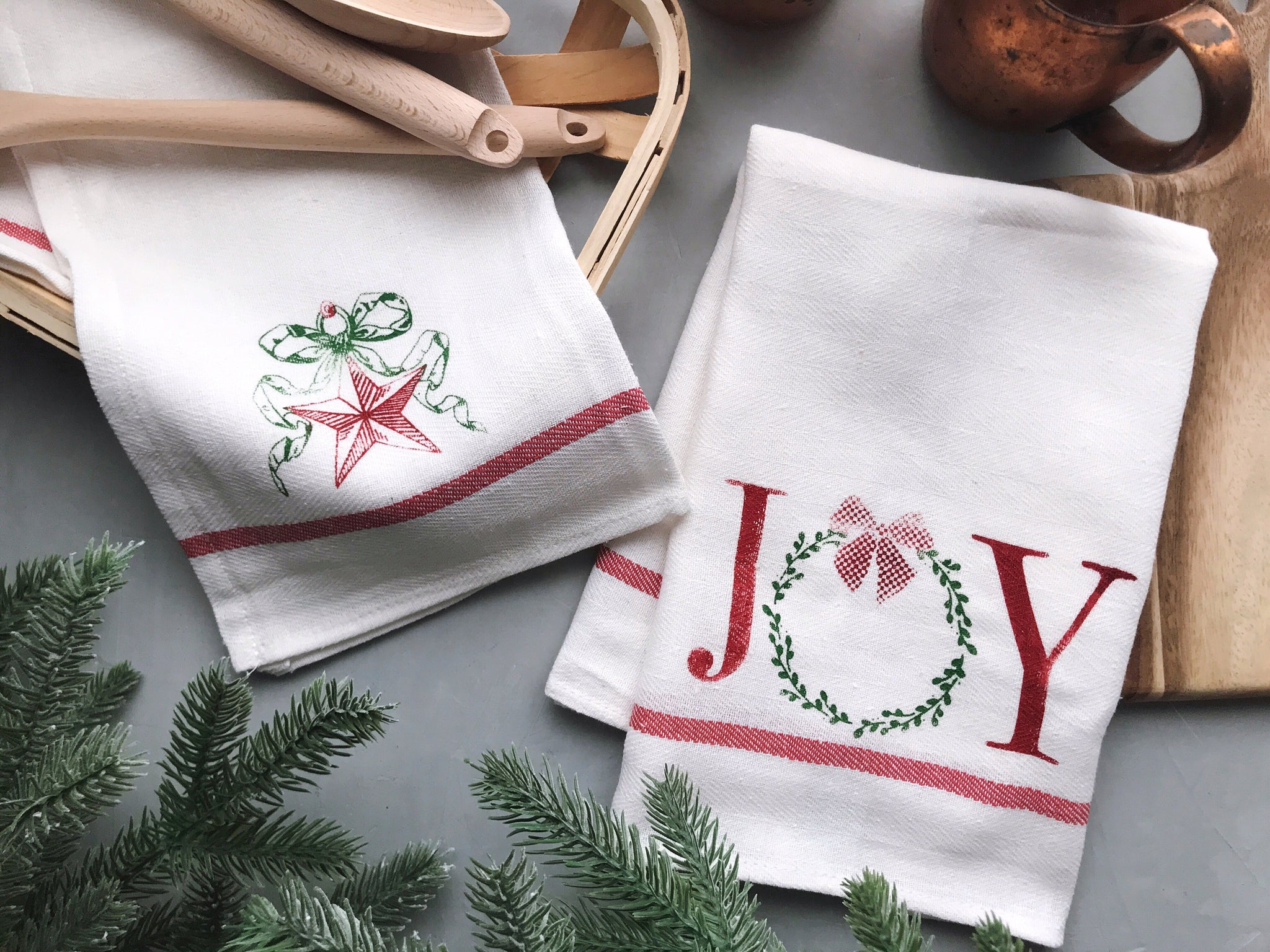 JOY TEA TOWEL KIT | MAKER MONDAY
