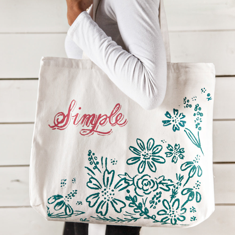 Simple Sassy Tote