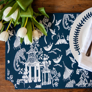 Chinoiserie Patterned Placemats Kit Tutorial