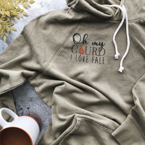 DIY FALL HOODIE | Using Gel Art Inks