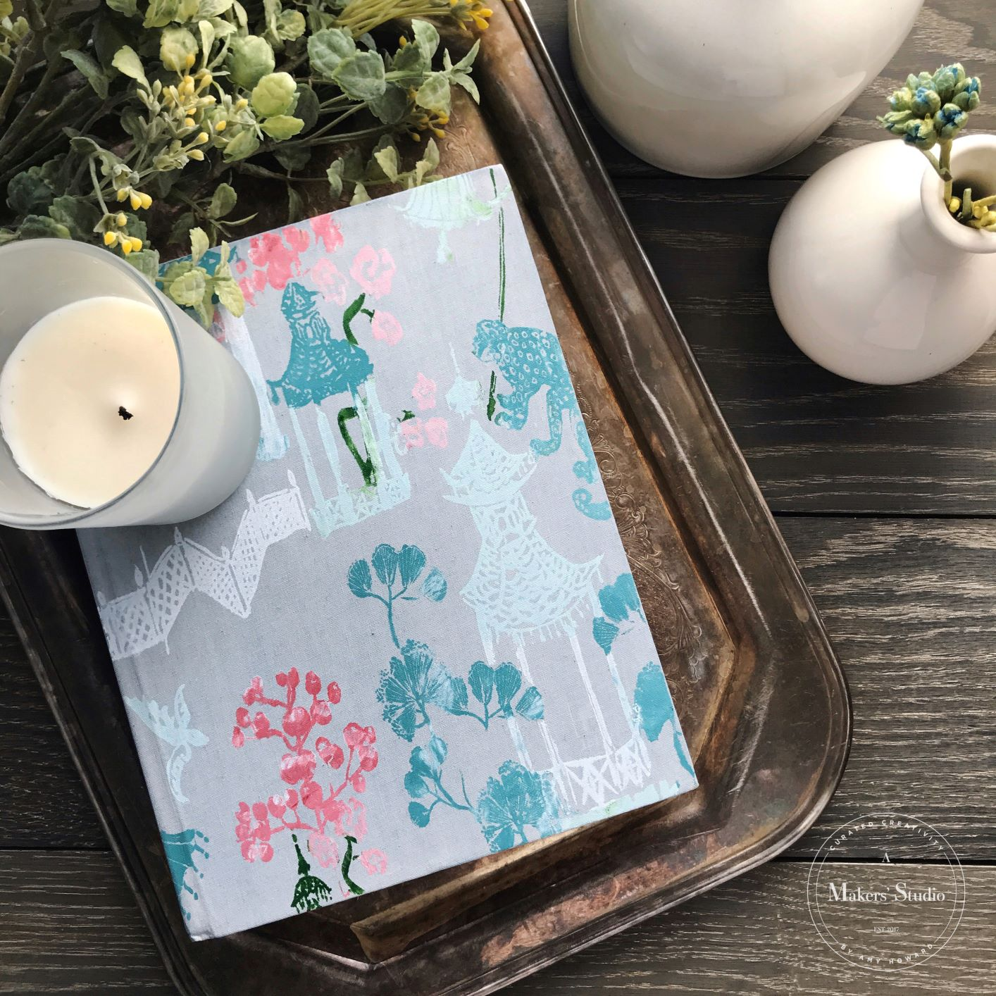 DIY Toile Notebook