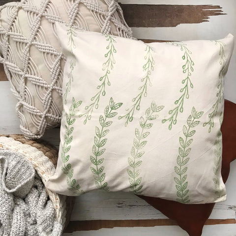 DIY Pillow Cover For Spring | A Makers' Studio