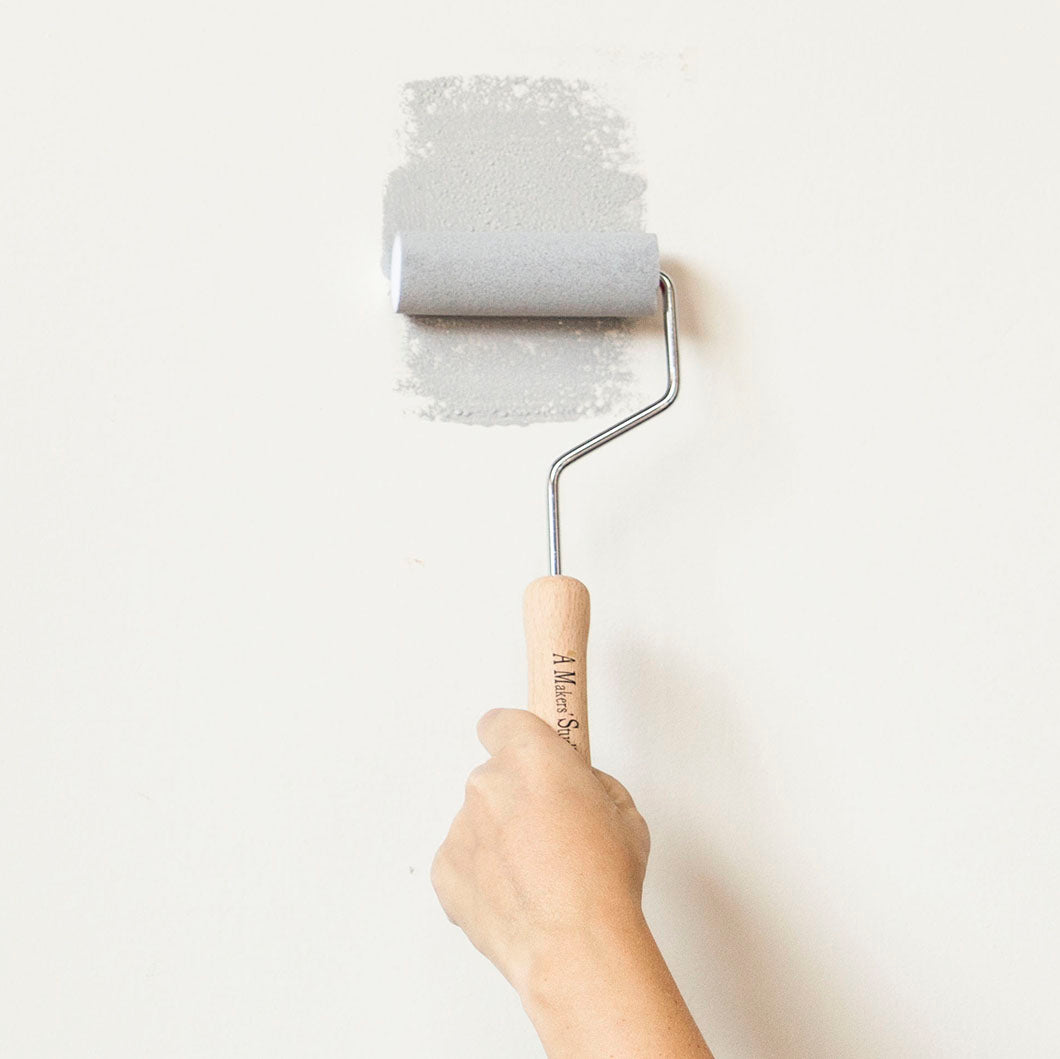Paint Roller Handle - Wooden - 4.0""