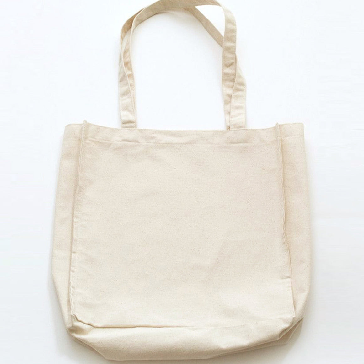 Canvas Tote Bag - Cream Color