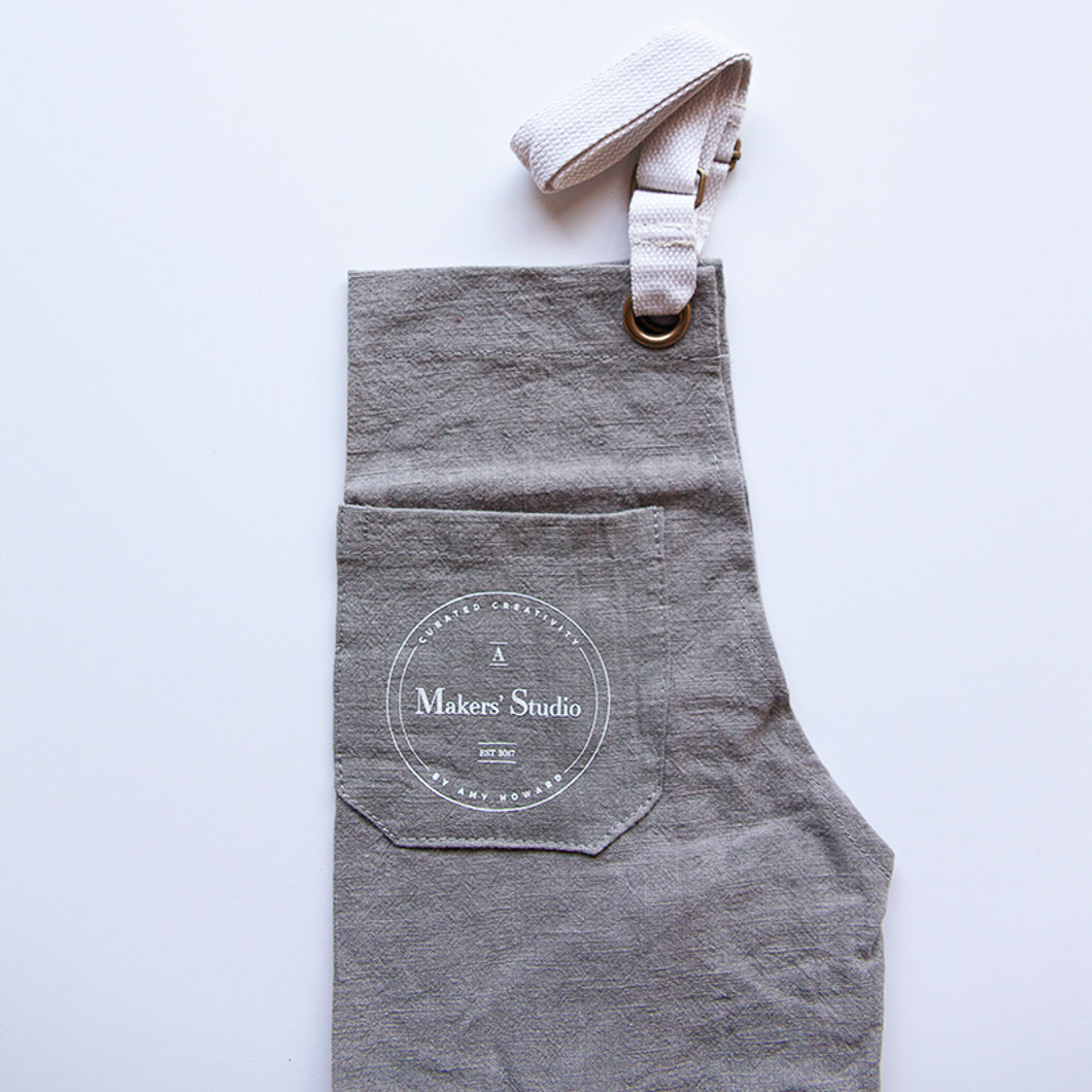 A Makers' Studio Apron