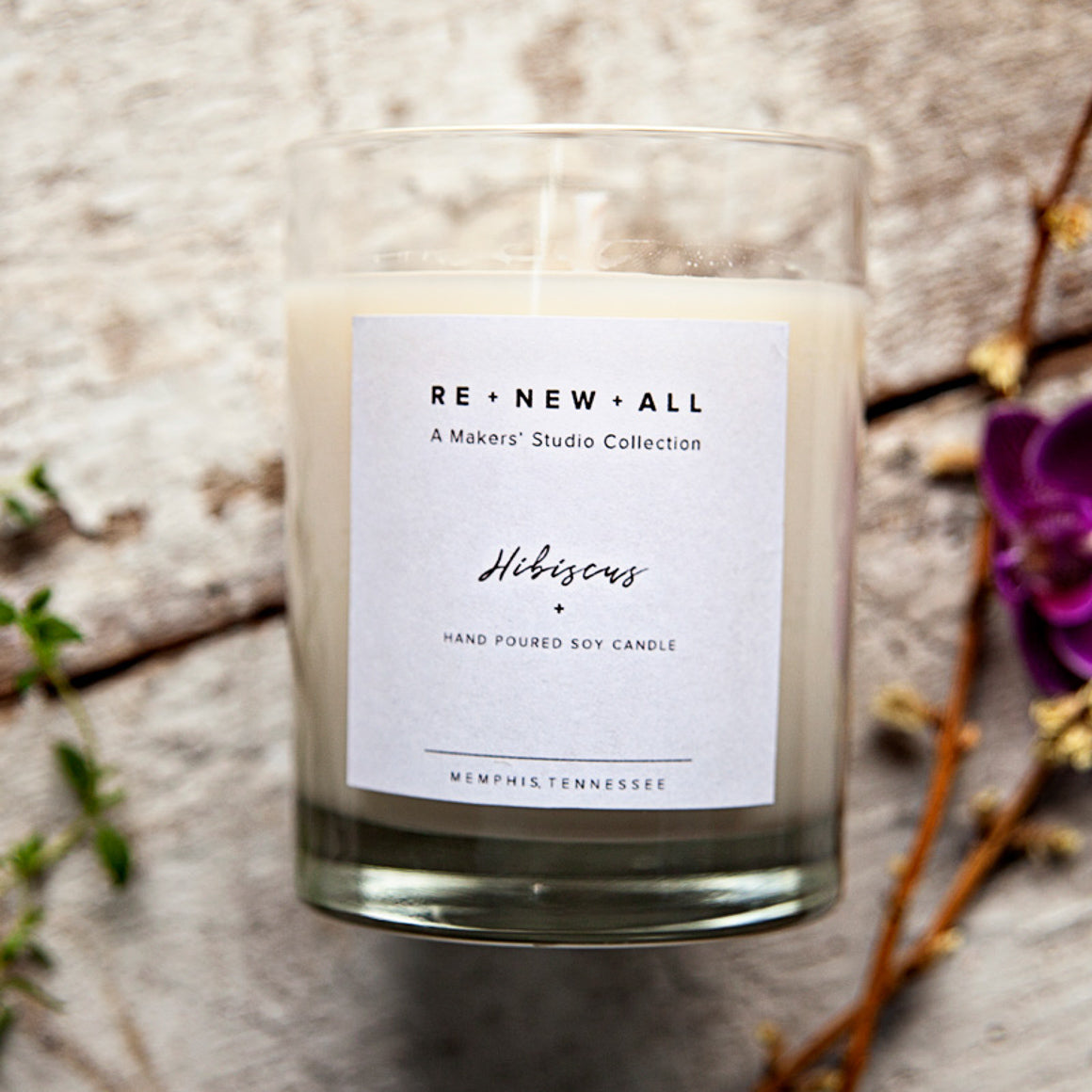 RE•NEW•ALL Candles - A Makers' Studio Store