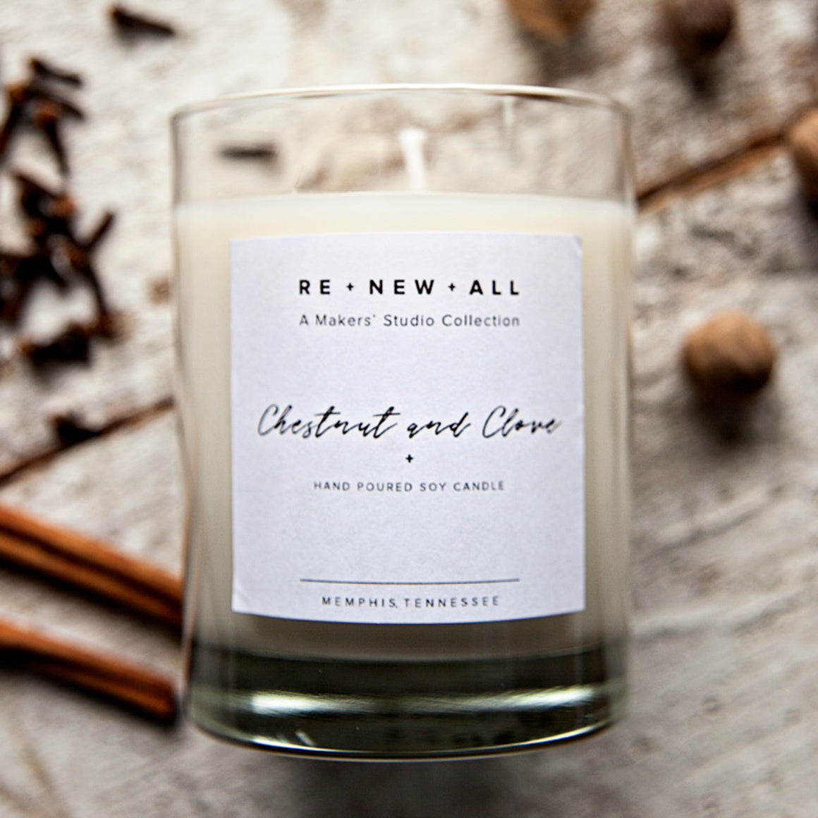 Candle - Chestnut and Clove